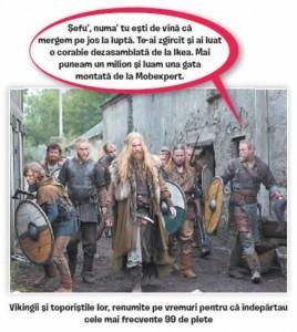 poza vikingii