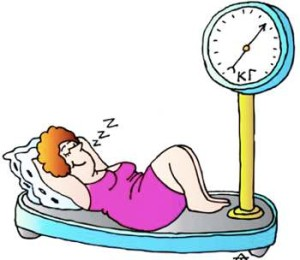 sleep-diet-sleep-and-weight-loss-00-woman-scale-cartoon
