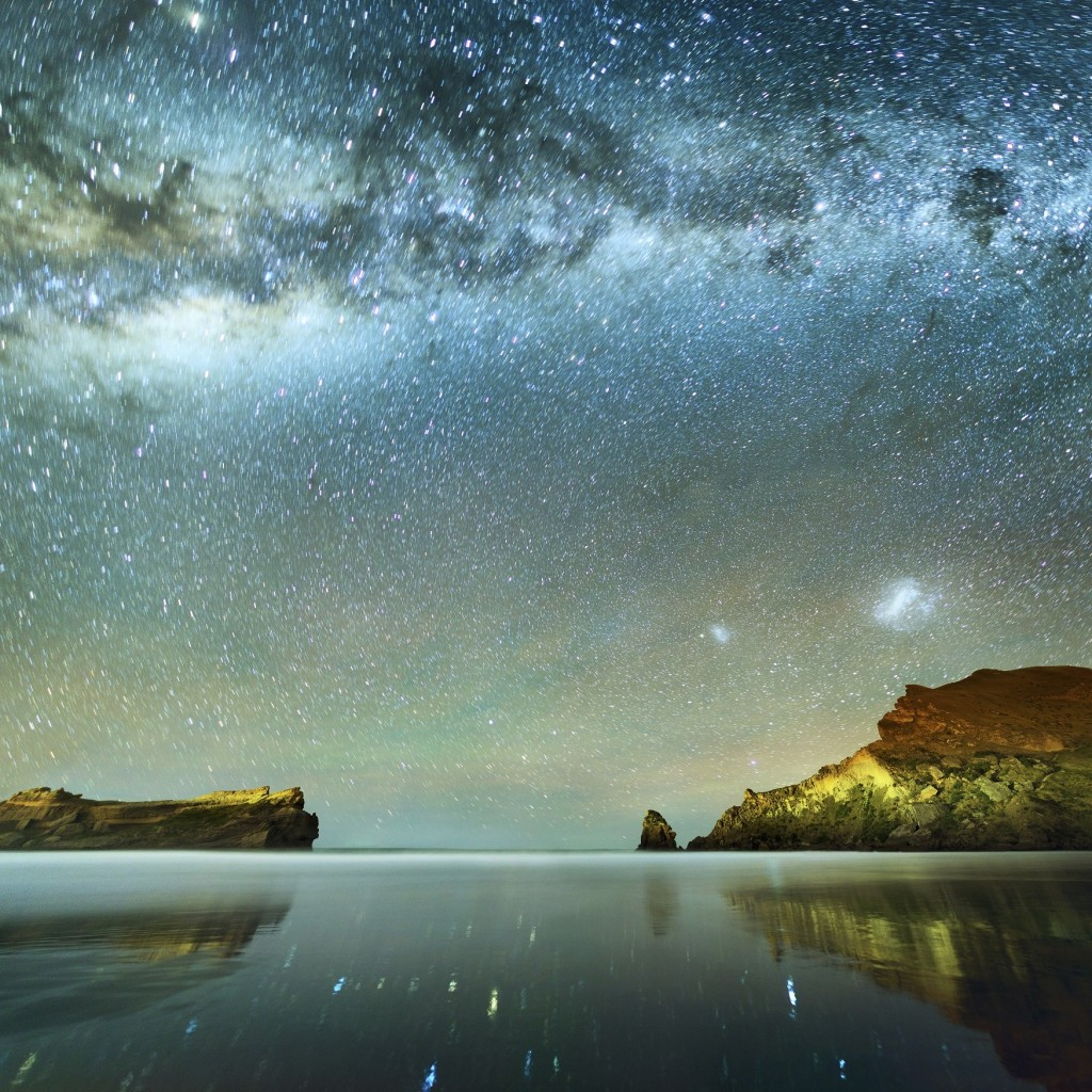 Long Exposure of Stars. (Getty AKA: 117149822)