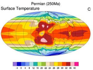 temperaturi permian