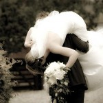 bride across threshold