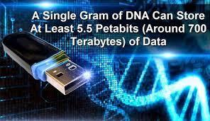 DNA harddrive
